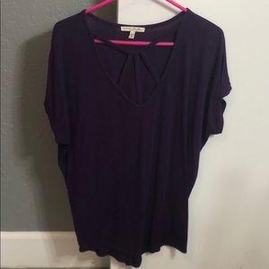 Express Purple Top